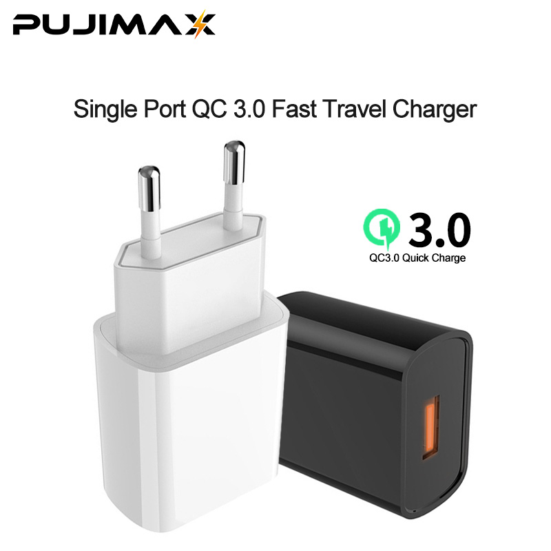 Travel Charger-Single QC 3.0